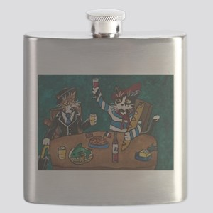 English/ French lunch Flask